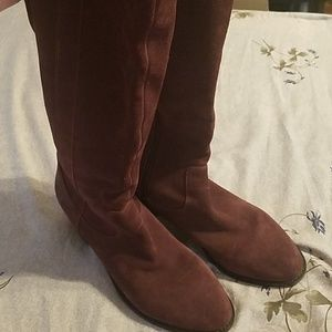 Marc Fisher tall wide calf boots